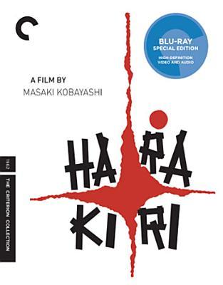 HARAKIRI BY NAKADAI,TATSUYA (Blu-Ray)